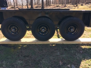 wheel wells leveled