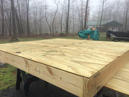 pressure treated sheathing on bottom of trailer.JPG