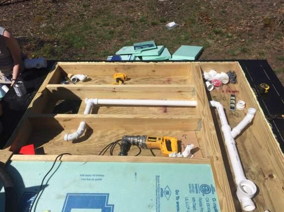 subfloor plumbing